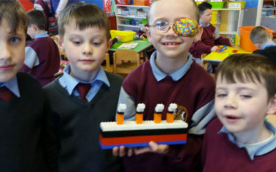 Senior infants learned all about the Titanic